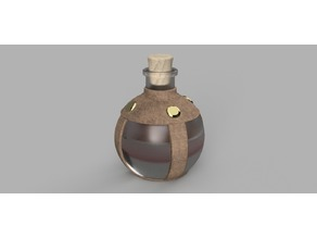 Potion of Minor Restoration (Potion Bottle)