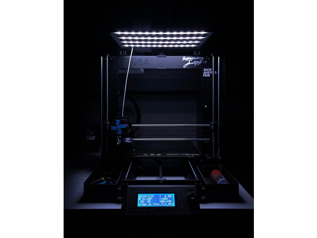 Prusa Lighting Rig By Jhdyck Thingiverse