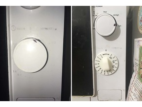 microwave timer dial