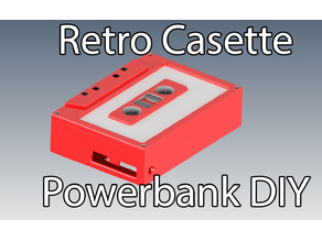 Powerbank DIY Casette Tape Retro