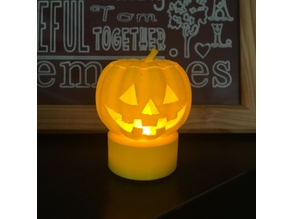 Jack-O-Lantern (Hollow with removable cap.)