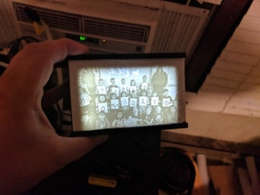 Lithophane frame