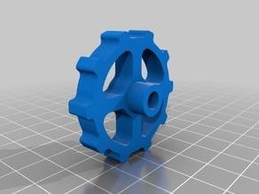 extruder gear spinner