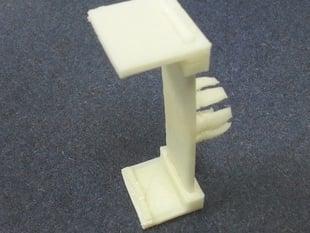 Garmin GPS replacement bracket for ball swivel