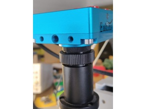 C mount adapter for AmScope