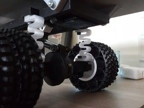 Printed truck V2: PLA springs