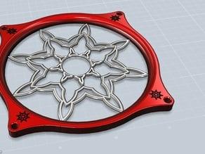 Lueftergitter Schneeflocke 2 Color M-Bot
