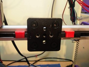MK8 Extruder for 2020 V-slot with Prusa i3 MK3 fans shroud