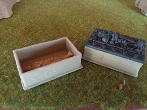Hero Quest Coffin Base replacement