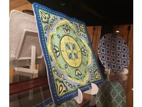Decorative Plate Stand