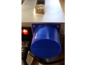 Geeetech Prusa I3 Aluminium Pro - Power Supply Fan Silencer