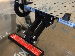 QTR-8A (RC) line sensor bracket for robots