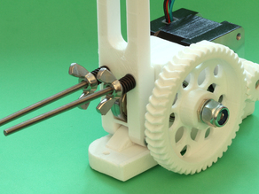 Modified RepRapPro Huxley Extruder