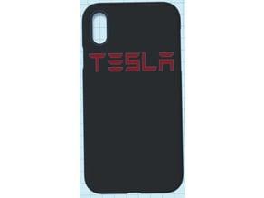 iPhone XR Tesla case