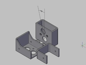 holds vernier caliper - vertical edge