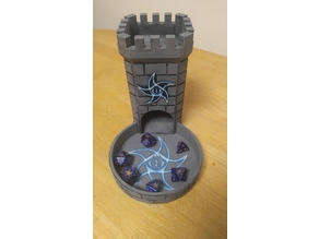 Astral Elder Sign Dice Tower