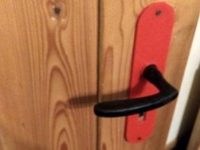 Schlossblende / door lock cover
