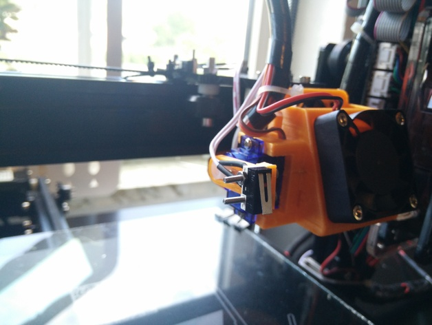Auto Bed Leveling with SG90 Servo for Tevo Tarantula by
