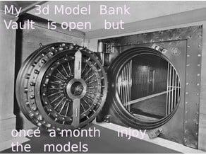 My  3d Model   vault   part 1