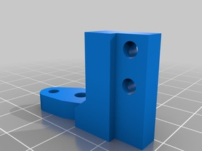 BL Touch holder for the new Hypercube removable carriage
