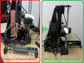 Melzi Case 210x50x40mm for Hesine M-505