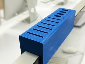 IMAC holder/organizer for USB drives and SD cards