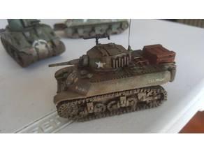 M3A3 Stuart (1:56) 28mm bolt action