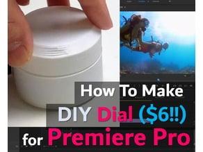 Premiere Pro Controller Dial DIY