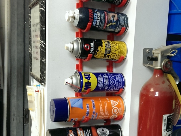 Spray Can Holder By Mostlighting Thingiverse