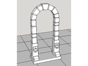 Heroquest / tabletop dungeon door
