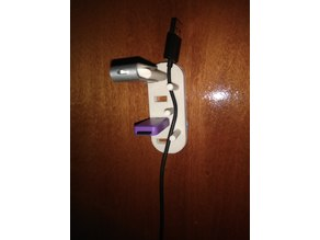 usb holder with 3 cilinders