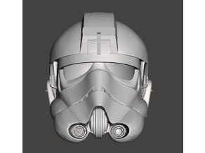 Tie Fighter Pilot Helmet... High Poly
