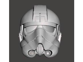 Tie Fighter Pilot Helmet... High Poly