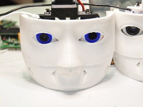 InMoov Eyeball for Ubisoft Motion Tracking Camera