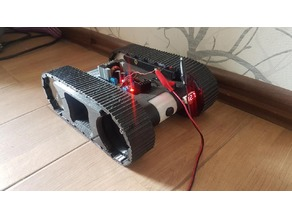Upgrade for Bribro12's Fpv tank rover