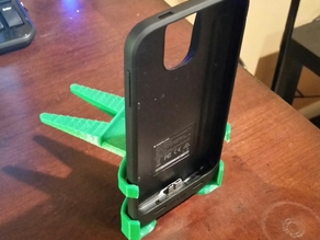 CD slot bracket for Galaxy s5 WITH MOPHIE CASE