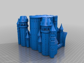 Medieval Castle FDM FFF Optimized PARTS