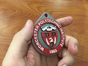 Worcester Polytechnic Institute Keychain