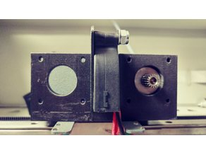 Createbot F430 Adapter Bracket for Bondtech BMG