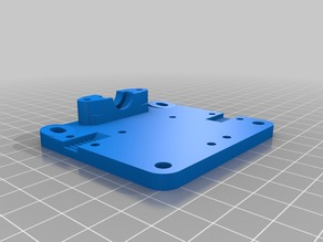 D-Bot - Embedded E3D Mount + Larger Nut space