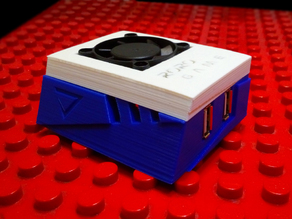 RoRo Game - Orange Pi Lite Case With Cooling Fan