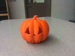 Spooky Halloween Jack-O-Lantern Pumpkin