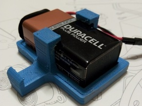 Battery Holder 9V for Printbot Evolution