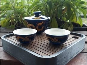 Simple Tea draining Tray