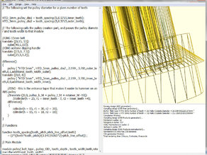 OpenSCAD wireframe mode using GLIntercept