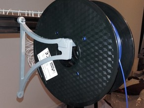 Simple wallmounted spool holder