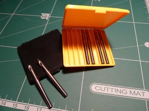 "Storage box for 1/8"" Carbide tools, Hinged"