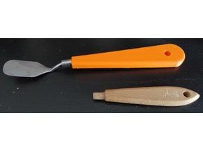 manche de spatule - spatula handle