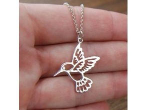 Hummingbird pendant 40mm
