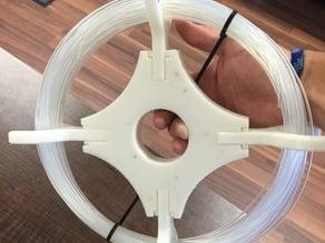 Collapsible filament reel holder